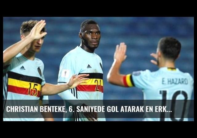 Christian Benteke, 6. Saniyede Gol Atarak En Erken Gol Rekorunu Kırdı