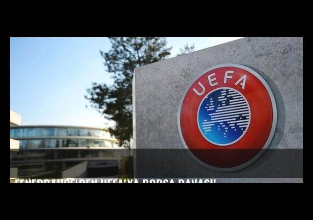 Fenerbahçe'den UEFA'ya borsa davası!