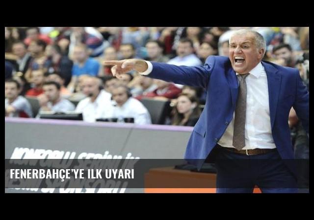 Fenerbahçe'ye ilk uyarı