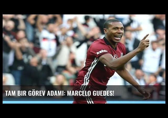 Tam bir görev adamı: Marcelo Guedes!