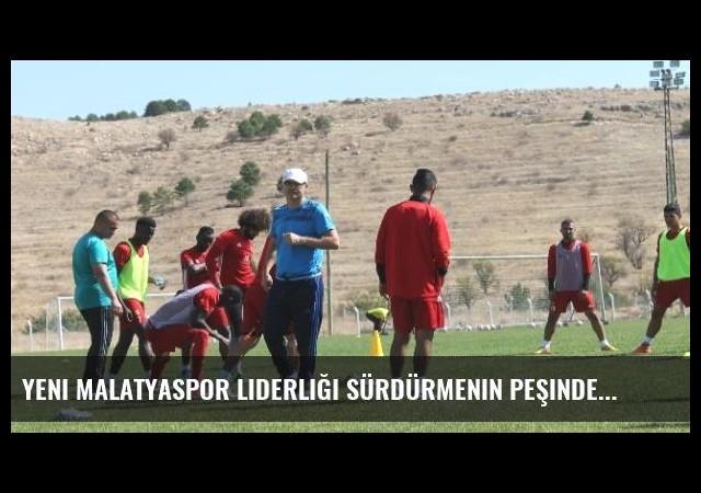 Yeni Malatyaspor Liderliği Sürdürmenin Peşinde