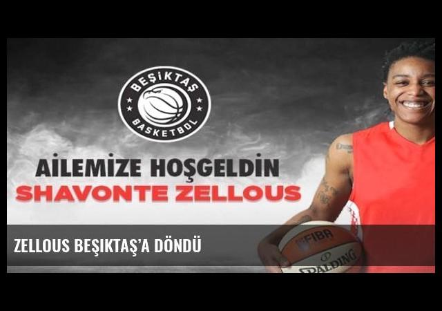 Zellous Beşiktaş'a döndü