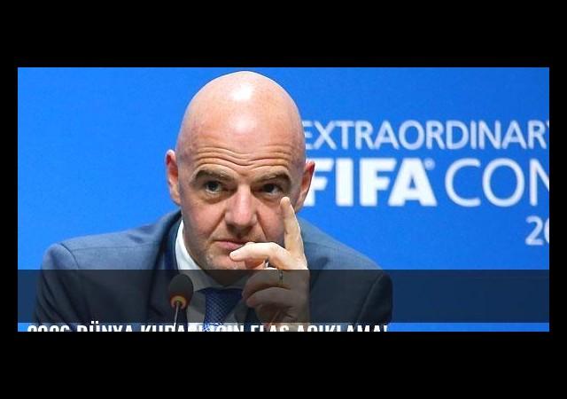 2026 Dünya Kupası için flaş açıklama!