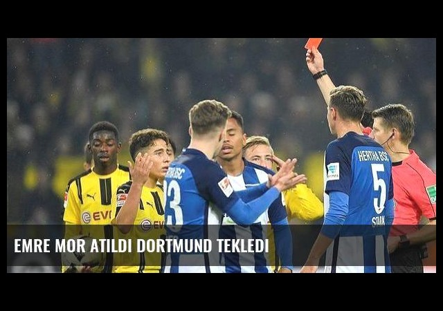 Emre Mor atıldı Dortmund tekledi