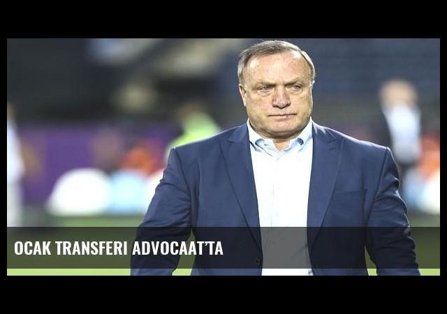 Ocak transferi Advocaat'ta