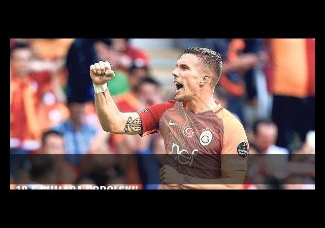 10.5 numara Podolski!