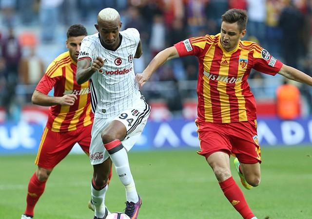 Beşiktaş, Kayseri'de güldü!