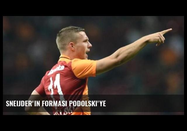Sneijder'in Forması Podolski'ye