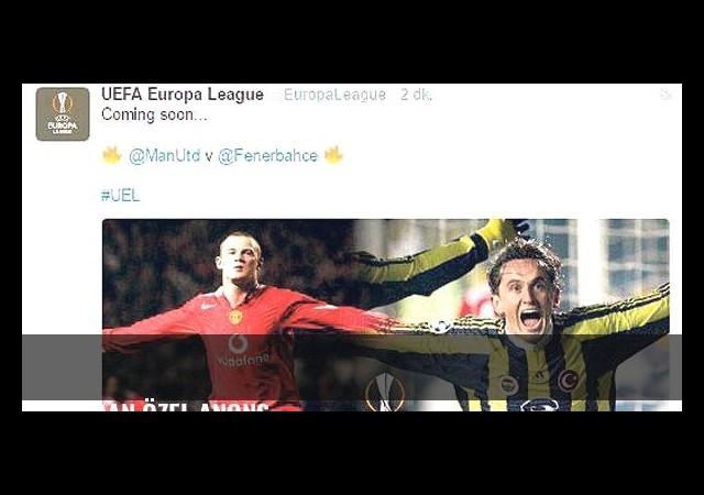 UEFA'dan özel anons