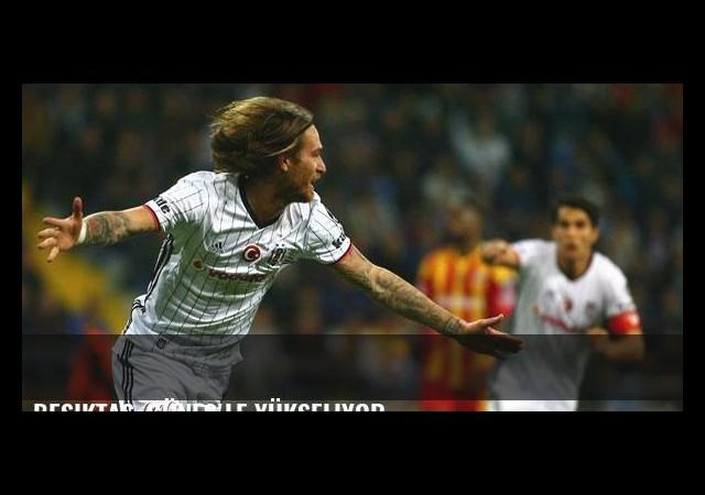 Beşiktaş, Güneş'le yükseliyor