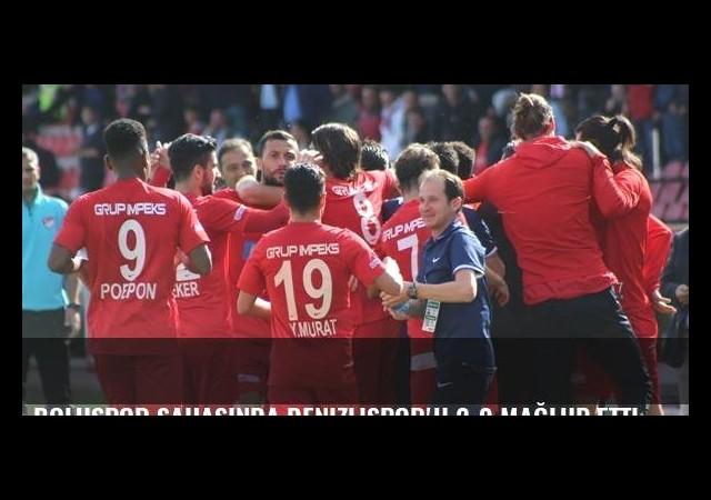 Boluspor sahasında Denizlispor'u 2-0 mağlup etti