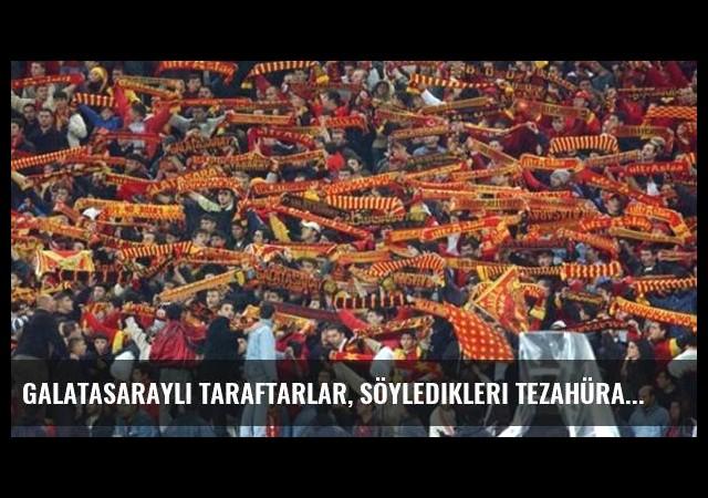 Galatasaraylı Taraftarlar, Söyledikleri Tezahüratı Değiştirdi