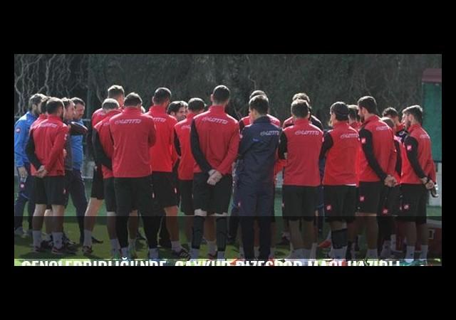 Gençlerbirliği'nde, Çaykur Rizespor maçı hazırlıkları