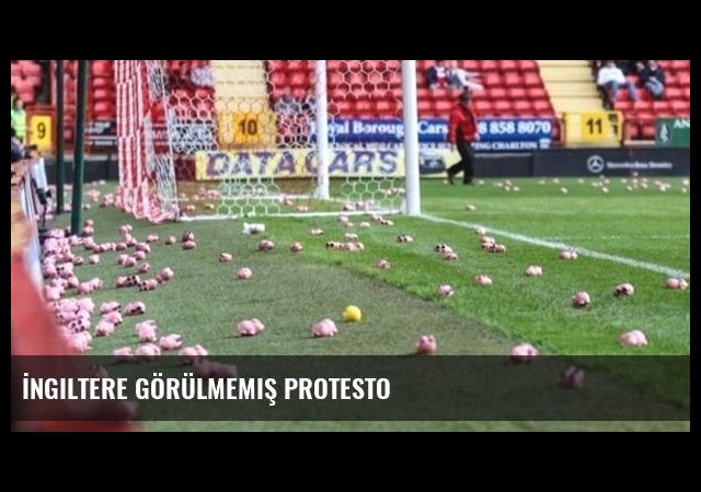 İngiltere görülmemiş protesto