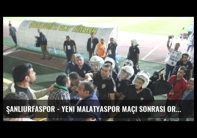 Şanlıurfaspor - Yeni Malatyaspor Maçı Sonrası Ortalık Karıştı