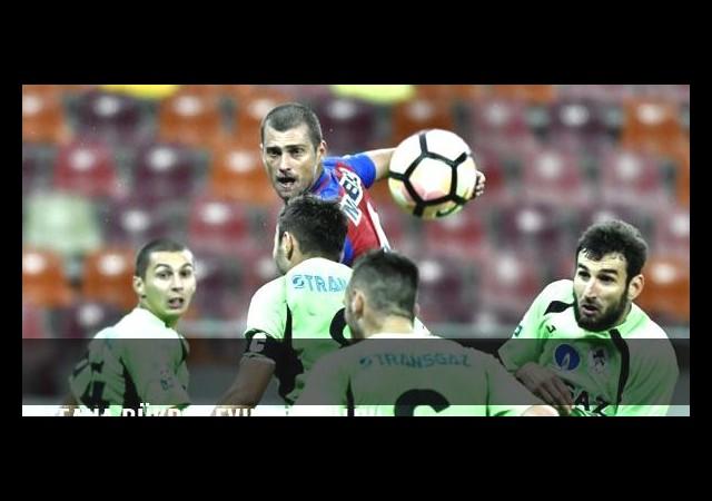 Steaua Bükreş evinde yıkıldı!