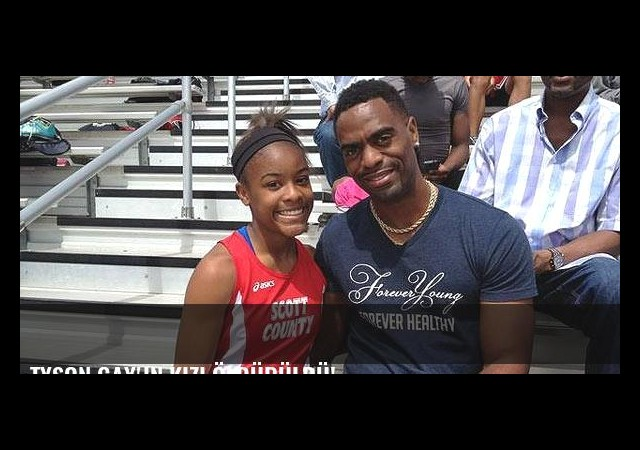 Tyson Gay'in kızı öldürüldü!