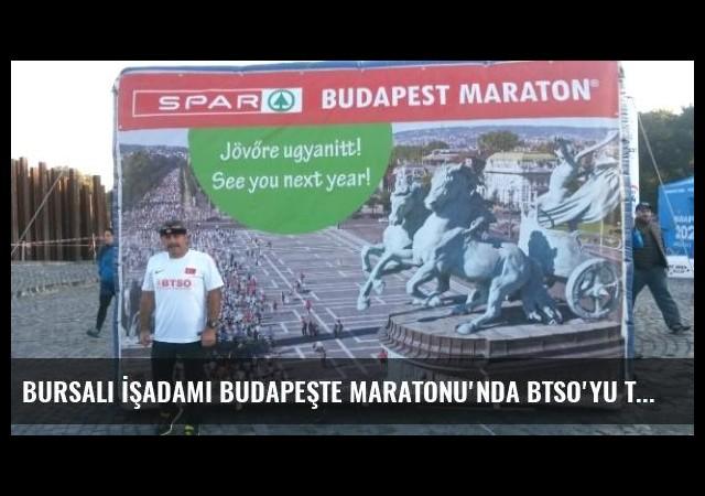 Bursalı İşadamı Budapeşte Maratonu'nda Btso'yu Temsil Etti