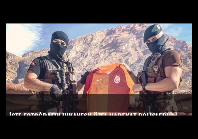 İşte fotoğrafın hikayesi! Özel Harekat polisleri...
