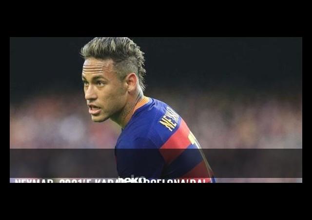 Neymar, 2021'e kadar Barcelona'da!