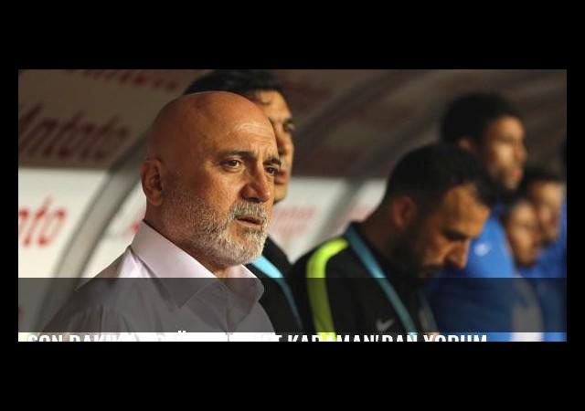 Son dakika golüne Hikmet Karaman'dan yorum
