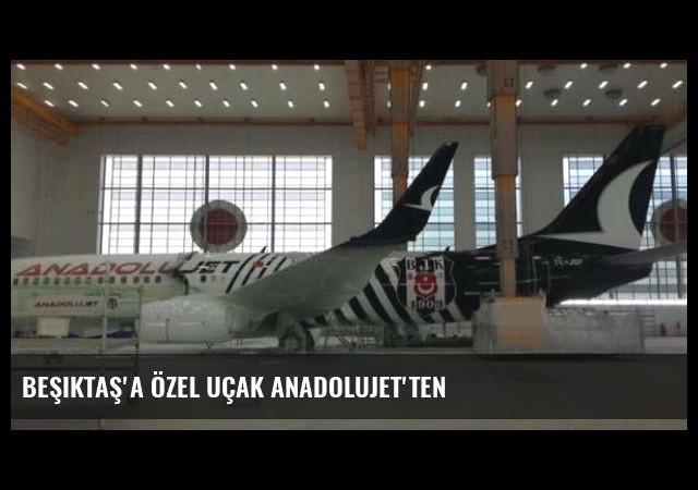 Beşiktaş'a özel uçak ANADOLUJET'ten