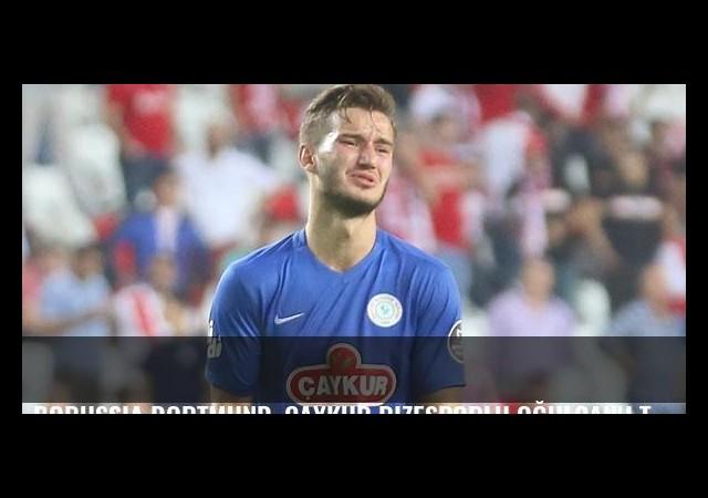 Borussia Dortmund, Çaykur Rizesporlu Oğulcan'ı takibe aldı