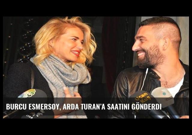 Burcu Esmersoy, Arda Turan'a saatini gönderdi