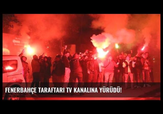 Fenerbahçe taraftarı TV kanalına yürüdü!