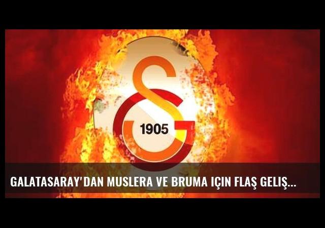 Galatasaray'dan Muslera ve Bruma için flaş gelişme!