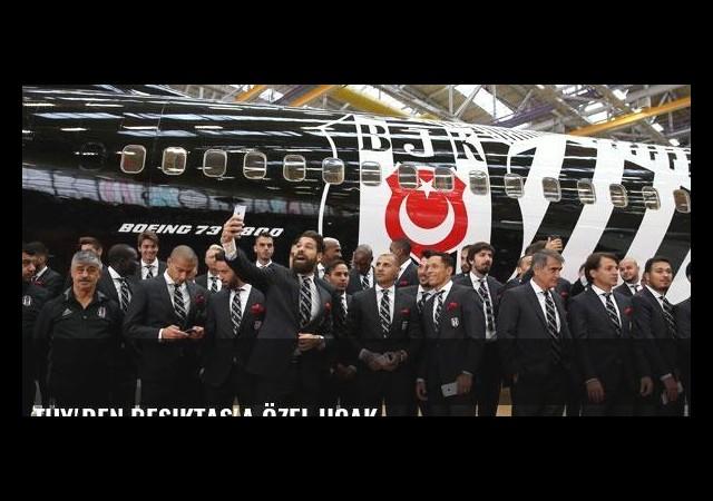 THY'den Beşiktaş'a özel uçak