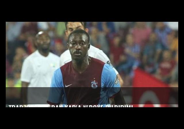 Trabzonspor'dan KAP'a N'Doye bildirimi