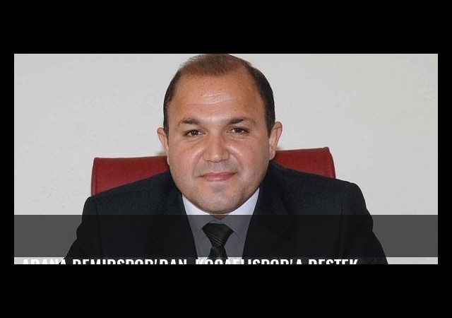 Adana Demirspor'dan, Kocaelispor'a destek