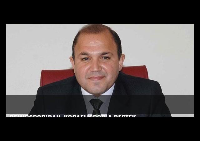 Demirspor'dan, Kocaelispor'a destek