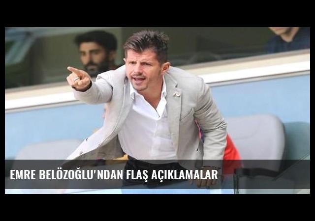 Emre Belözoğlu'ndan flaş açıklamalar