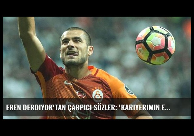 Eren Derdiyok'tan çarpıcı sözler: 'Kariyerimin en iyi golü...'