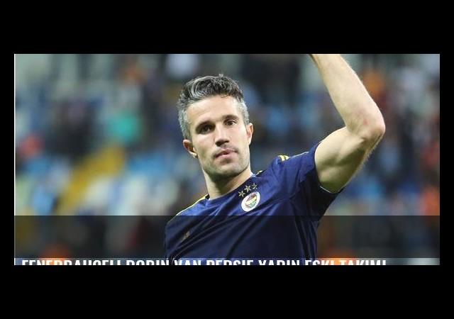 Fenerbahçeli Robin van Persie yarın eski takımı Manchester United'a karşı oynayacak