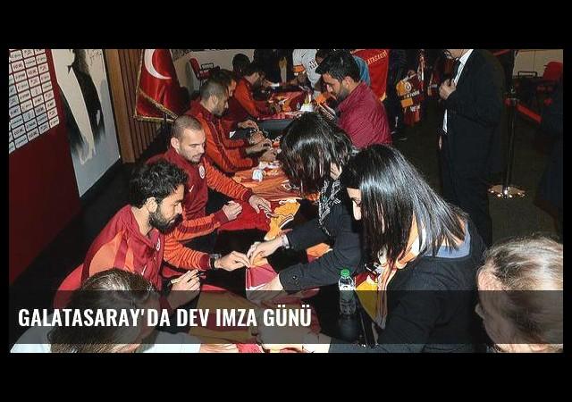Galatasaray'da dev imza günü