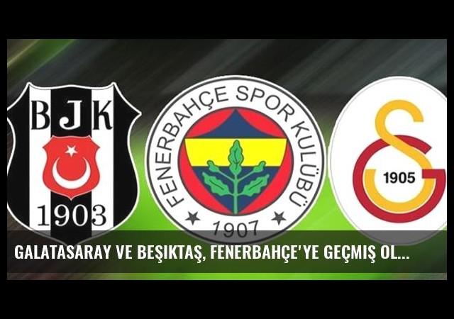 Galatasaray ve Beşiktaş, Fenerbahçe'ye Geçmiş Olsun Dileklerinde Bulundu