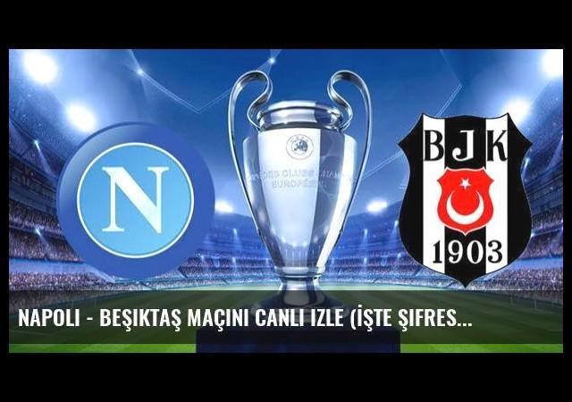 Napoli - Beşiktaş maçını canlı izle (İşte şifresiz veren kanallar )