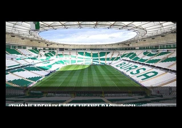'Timsah Arena'ya UEFA lisansı başvurusu