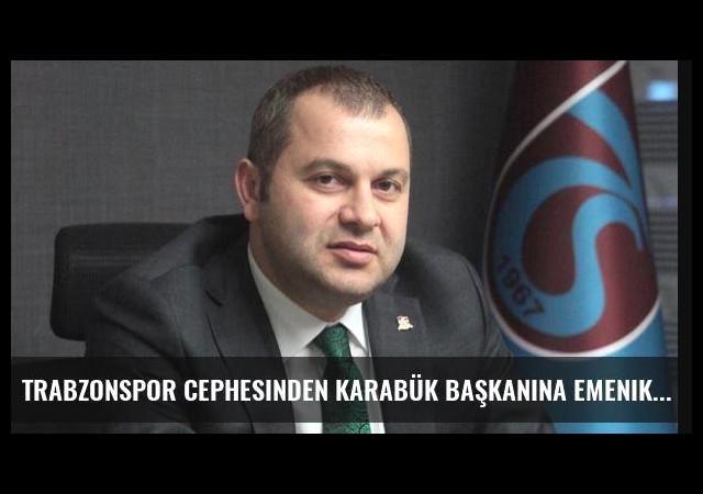 Trabzonspor cephesinden Karabük başkanına Emenike göndermesi!