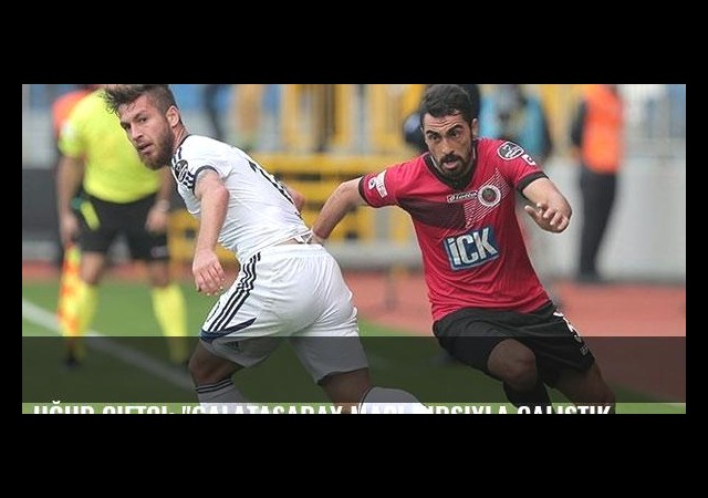 Uğur Çiftçi: 'Galatasaray maçı hırsıyla çalıştık'