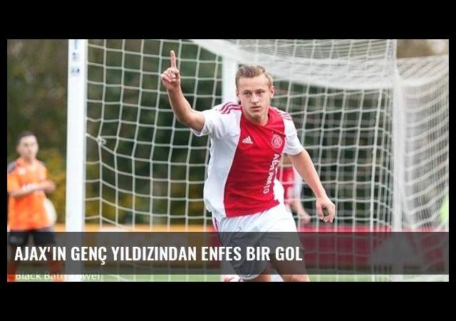 Ajax'ın genç yıldızından enfes bir gol