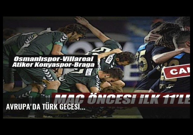 Avrupa'da Türk gecesi...