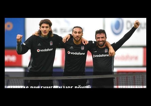 Beşiktaş dinlenmeden lige döndü...