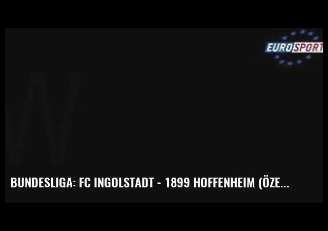 Bundesliga: Fc Ingolstadt - 1899 Hoffenheim (Özet)