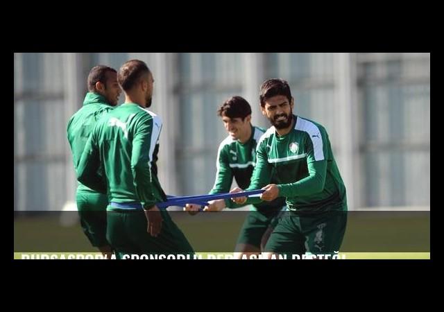Bursaspor'a sponsorlu deplasman desteği
