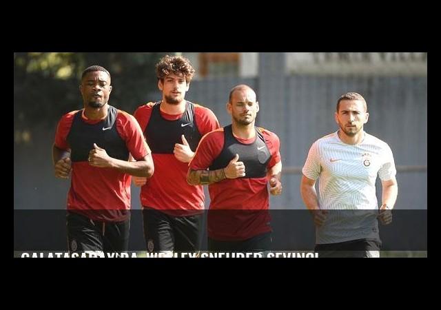Galatasaray'da, Wesley Sneijder sevinci