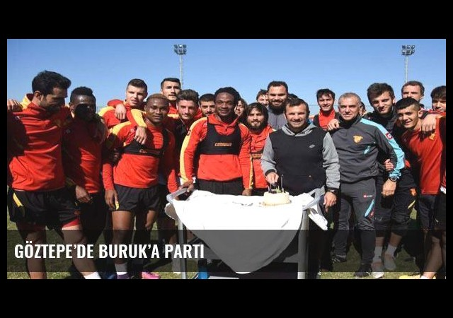 Göztepe'de Buruk'a parti